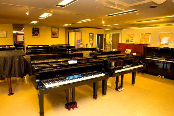 グランドピアノサロン|西宮北口オーパス店|ピアノ販売・調律・買取
